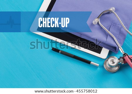 HEALTHCARE DOCTOR TECHNOLOGY  CHECK-UP CONCEPT - stock photo
