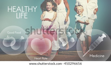 Healthcare Fitness Exercise Healthy Wellbeing Concept - stock photo