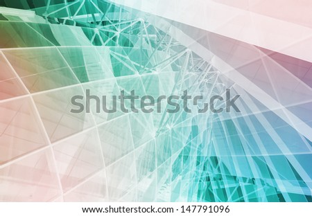 Healthcare Science Industry as a Concept Abstract - stock photo