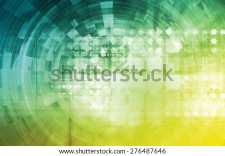 Healthcare Technology and Monitoring Medical As Art - stock photo