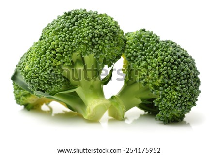 Healthy brocoli - stock photo