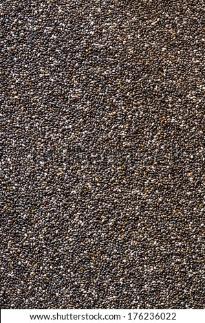 Healthy Chia seed background - stock photo