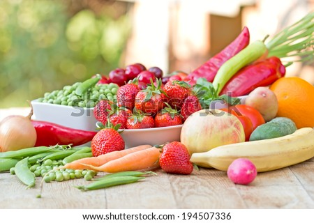 Healthy Food - stock photo