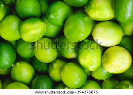 Healthy food, Lime background.