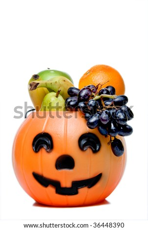 Healthy Halloween - stock photo
