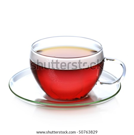 Healthy hot Tea - stock photo