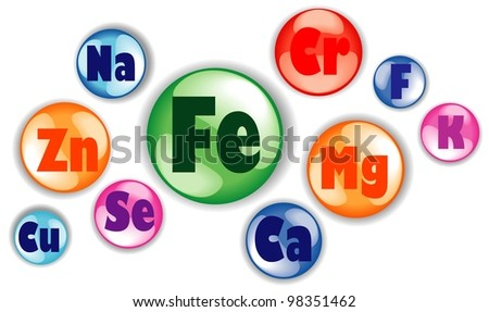 Healthy life concept.  Illustration - stock photo