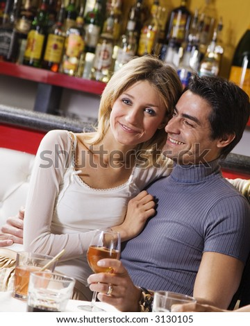 healthy living: young couple having fun together