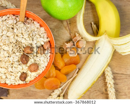 Healthy meal for a healthy diet - stock photo