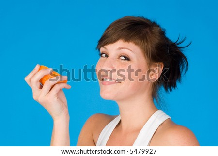 healthy nutrition - concept shoot - stock photo
