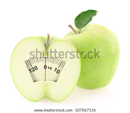 Healthy slimming diet - stock photo