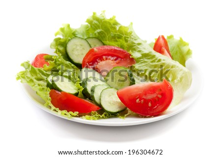 Healthy Vegetable Salad  - stock photo