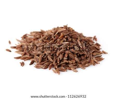 Heap of cumin - stock photo