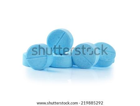 Heap of medicine pills. - stock photo