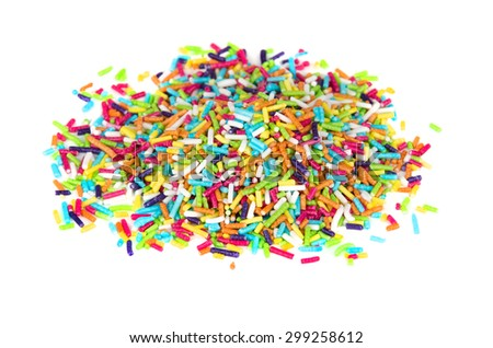 how to make colored sugar sprinkles