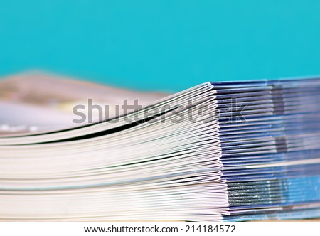 heap of roles  - stock photo