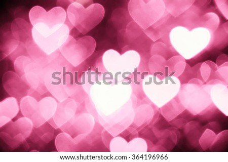 heart background photo light pink color  - stock photo