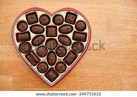 hộp trái tim của sôcôla, nguồn gốc, Ngày Valentine.