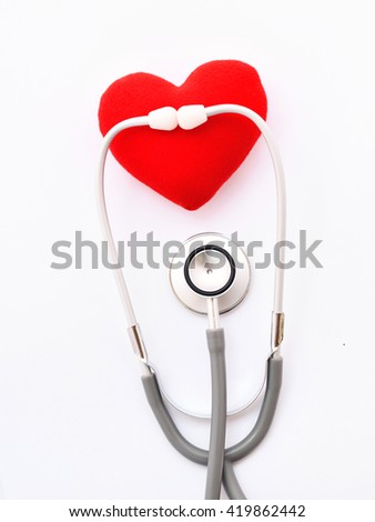 Heart checkup, medical concept