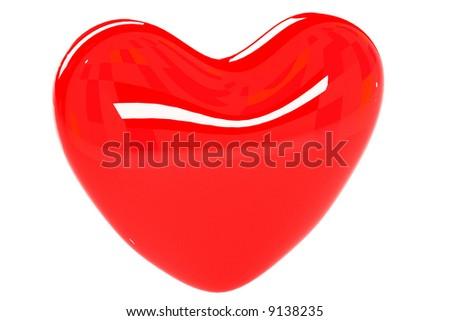 Heart 3D - stock photo