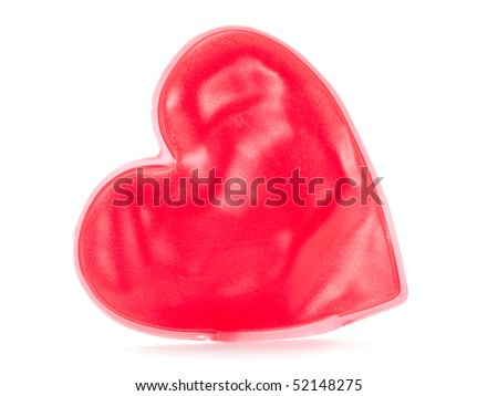 heart isolated on the white background