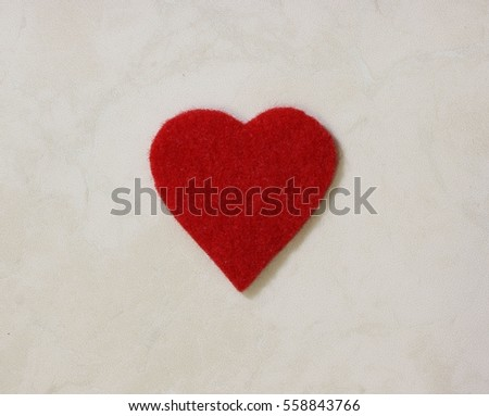 heart, love, Valentine, day, emotion, card, feelings,  red, wishes, one