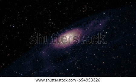Heart of galaxy. Elements of this image furnished by NASA.