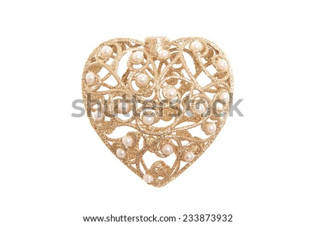 heart of gold - stock photo
