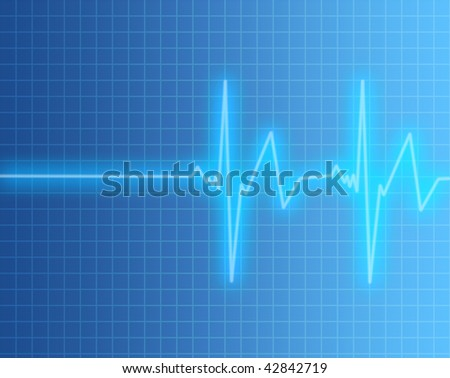 Heart Rate Pulse - stock photo
