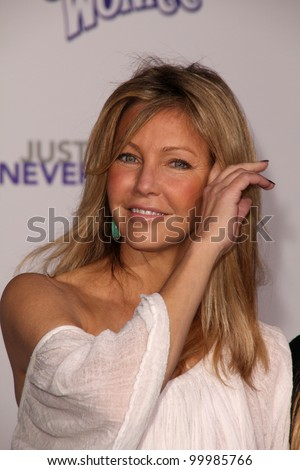 "Heather Locklear at the ""Justin Bieber: Never Say Never"" Los Angeles Premiere, Nokia Theater, Los Angeles, CA. 02-08-11"