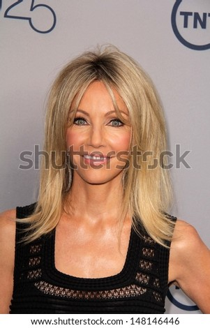 Heather Locklear at the TNT 25th Anniversary Party, Beverly Hilton Hotel, Beverly Hills, CA 07-24-13