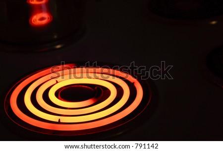 heating elements - stock photo