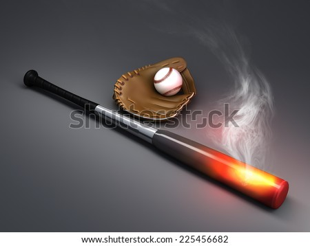heating up - stock photo
