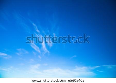 Heaven Beauty Background - stock photo