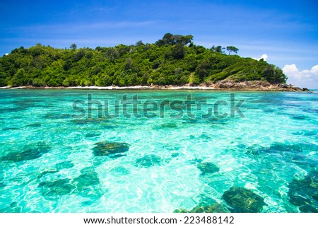 Heaven On Earth Marine Fantasy  - stock photo