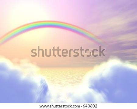 heavenly peace - stock photo
