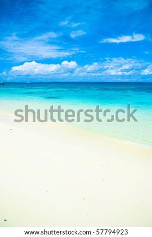 Heavenly Shore - stock photo
