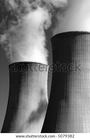 Heavy industry construction - stock photo