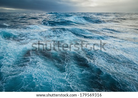Heavy storm. - stock photo