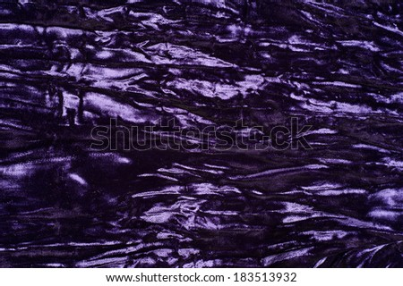 Heavy Vintage Purple Crushed Velvet For Use As A Background Or Texture Overlay