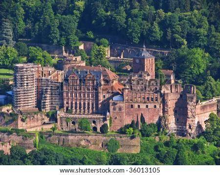 Heidelberg castle - stock photo