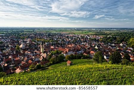 Heidelberg Schriesheim - stock photo