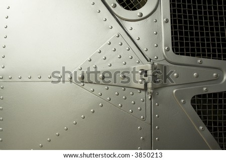 Helicopter detail - stock photo