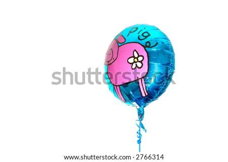 Helium Baloon - stock photo
