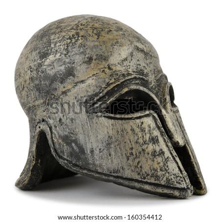 helmet Greek - stock photo
