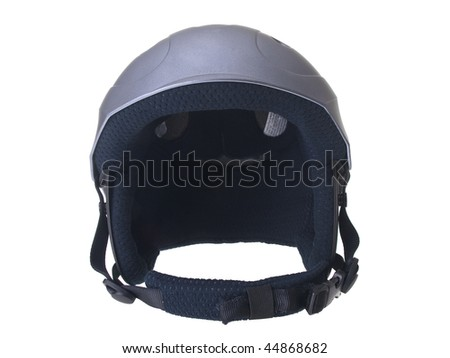 Helmet isolated on white  background - stock photo