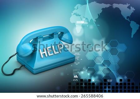 Help desk concept  - stock photo
