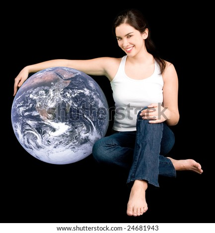 Help Earth Be your Friend - stock photo