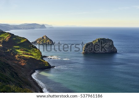 Hermitage on the coast of Biscay