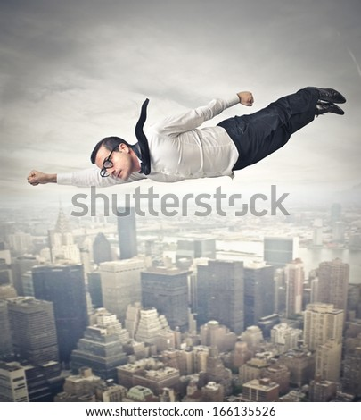 Hero - stock photo